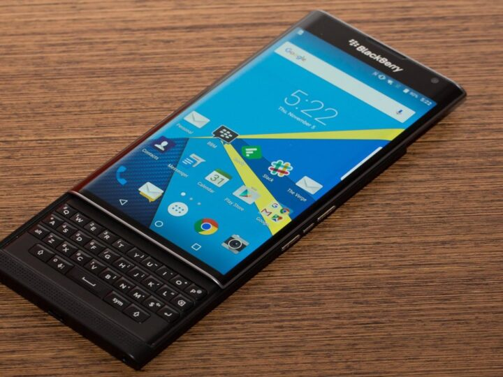 BlackBerry Neon, BlackBerry Argon & BlackBerry Mercury: Three New Android Phones from BlackBerry