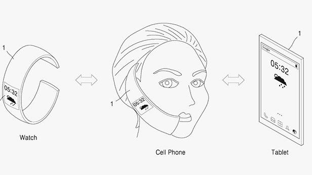 samsung patent hybrid phone tablet watch 02