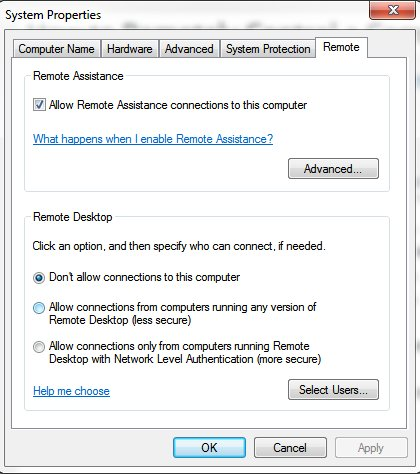 how to remotely control computer windows 7 02