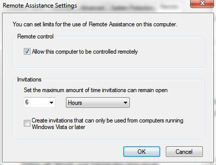 how to remotely control computer windows 7 03