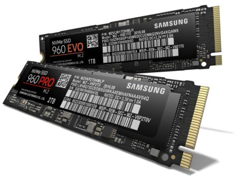 Samsung Unveils Largest & Fastest SSD: 960 EVO and 960 PRO