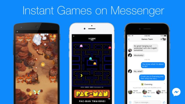 Facebook Messenger Instant Games Are a Thing Now