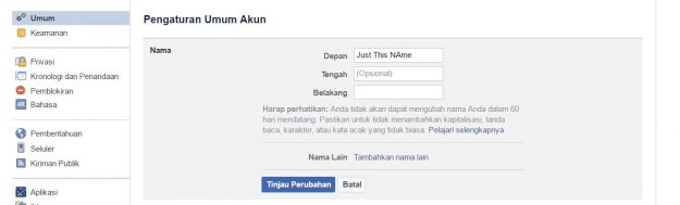how to make facebook hide last name 3