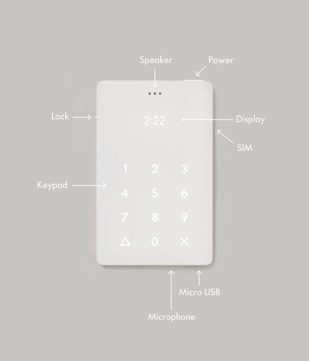 The phone's functions and design explained