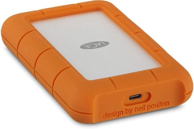 LaCie Rugged Portable HDD