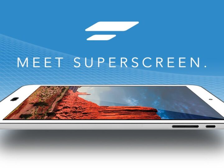 This Is Superscreen: A Large Wireless HD-Display for Your Smartphone