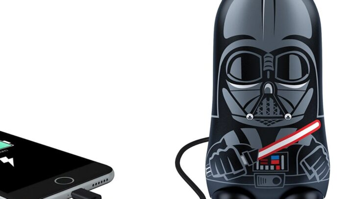 This Darth Vader Portable Battery Charger Is the Coolest Charger Ever