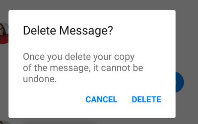 you can do it messages