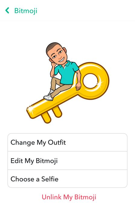 How to Edit Your Bitmoji Avatar Moods in Snapchat