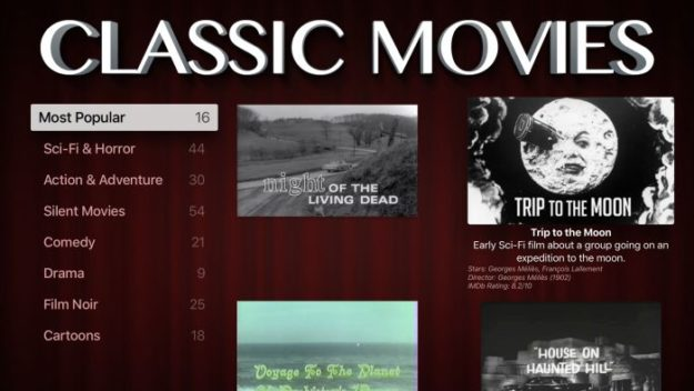 All Classic Movies App