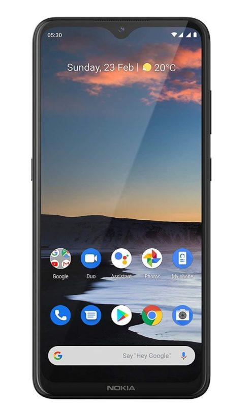 Nokia 5.3 phone for streaming movies
