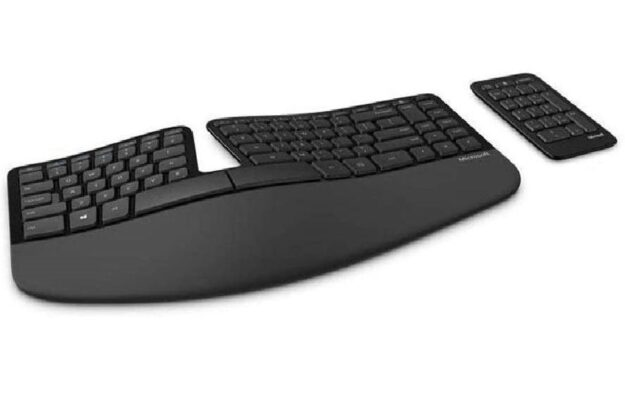 mirosoft sculpt keyboard for writers