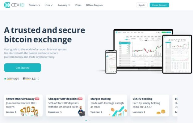Cex Io account creation