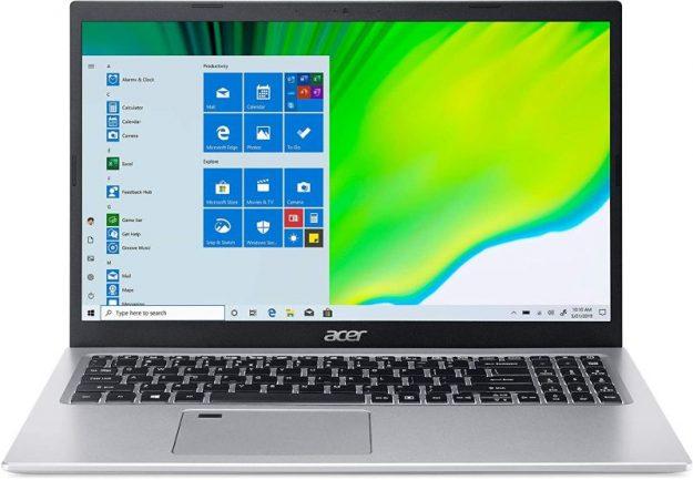 acer aspire laptop with numeric keypad