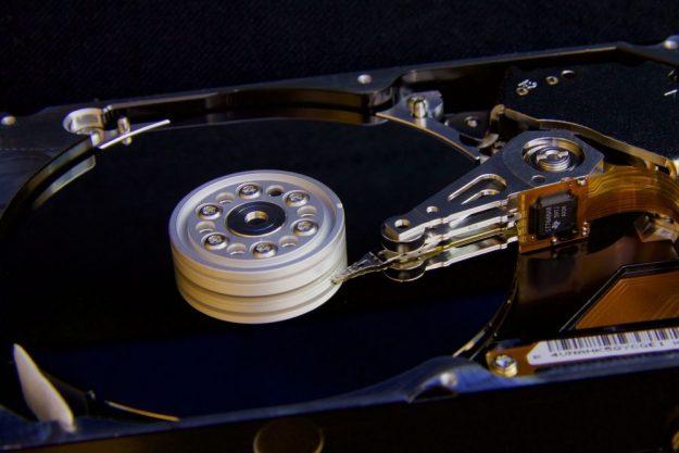 hard drive size