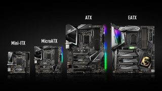motherboard size chart