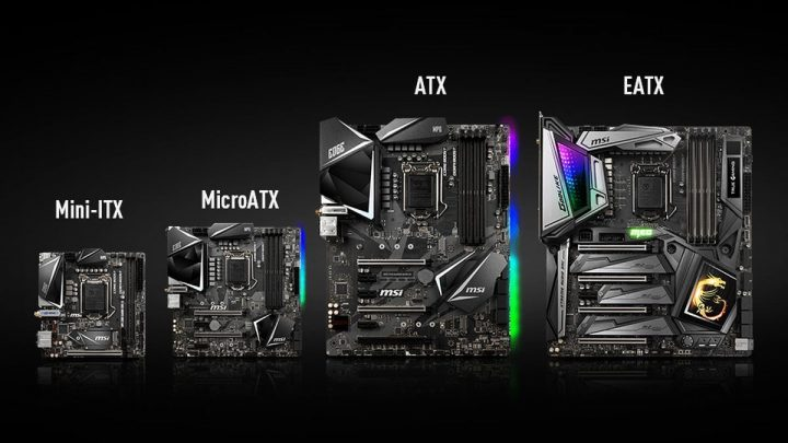 Motherboard Size Comparison Chart