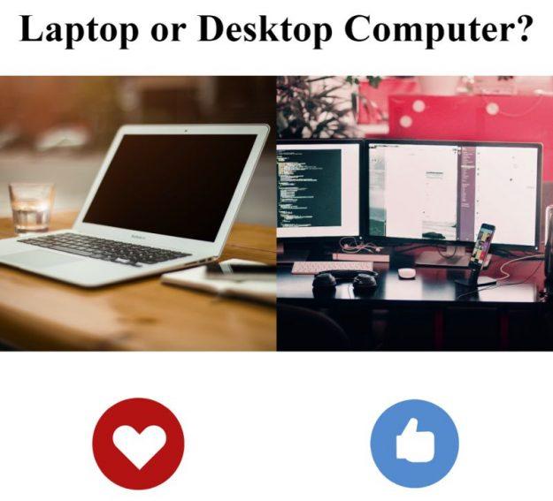 Laptop or Desktop computer poll
