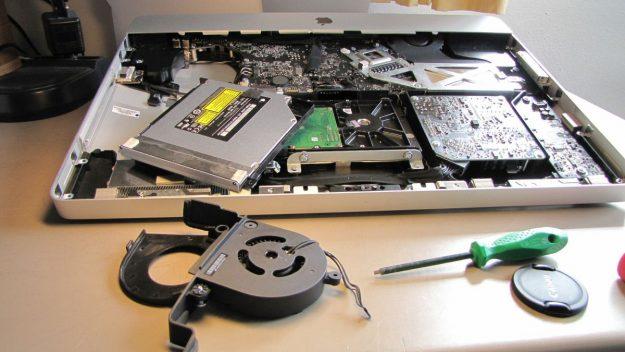laptop fan making weird noises