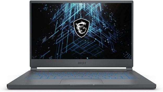 msi laptop for game development