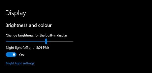laptop brightness settings